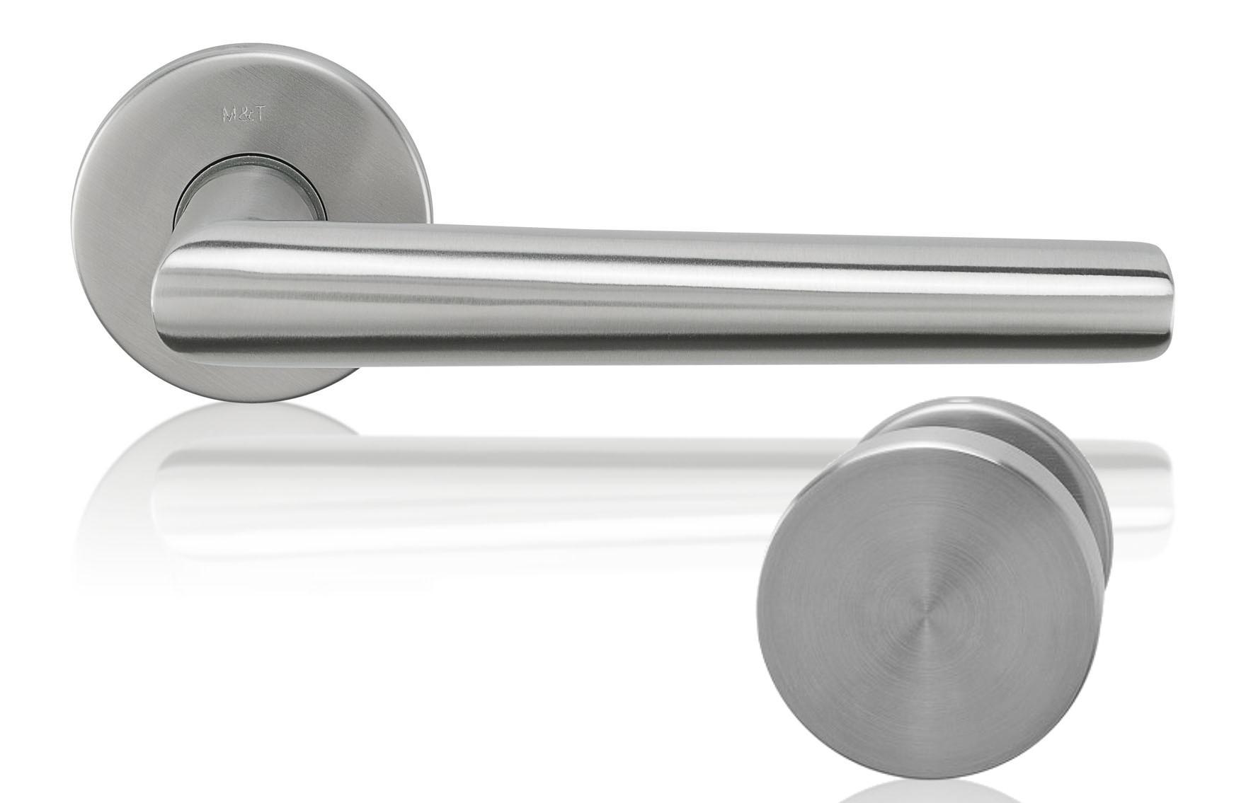 Knob-Door handle Morgan stainless steel