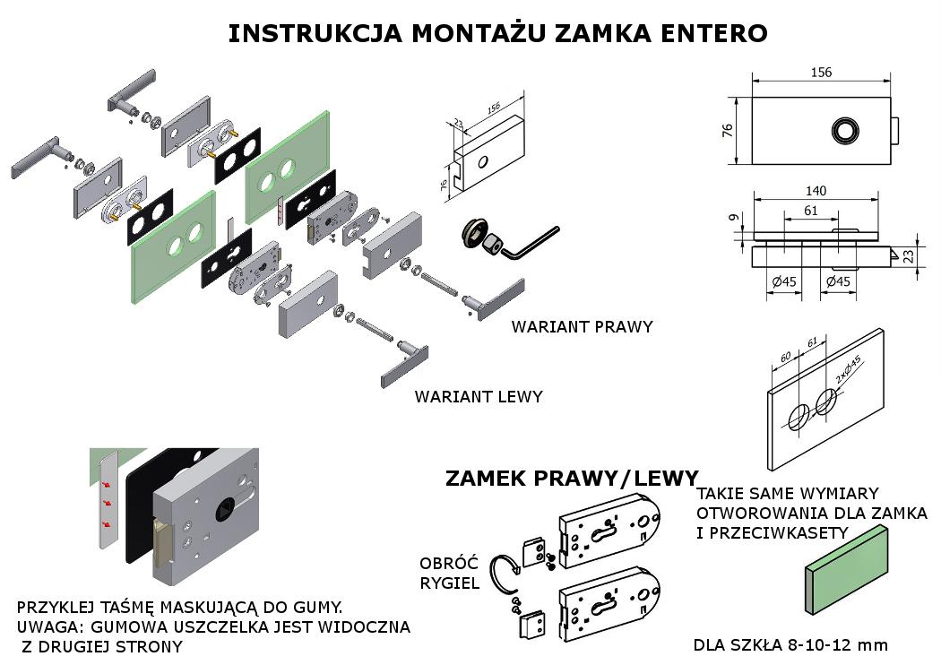 instrukcja zamek entero