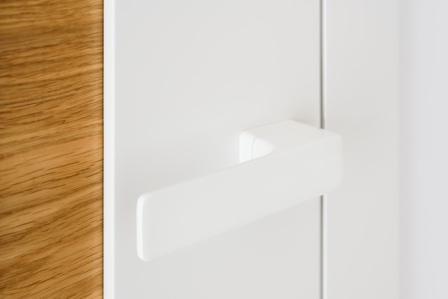 Minimal Biały- klamka biała