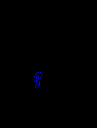 Otworowanie do montażu klamek z rozetą dolną na klucz lub wkładkę