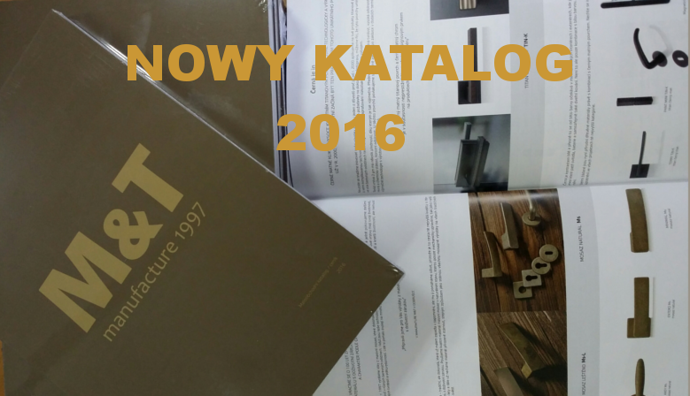 The new catalog 2016 M&T